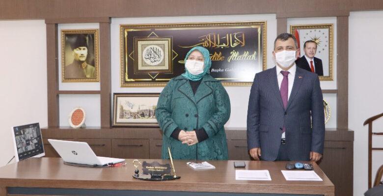 Bakan Selçuk, Başkan Koyuncu'yu Ziyaret etti