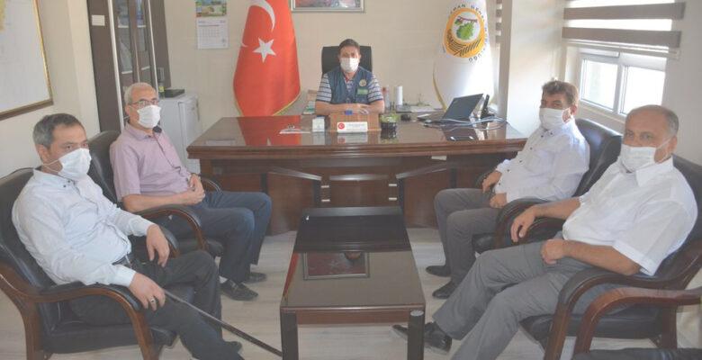 Başkan Sarı'dan Orman İşletme Müdürüne Hayırlı Olsun Ziyareti