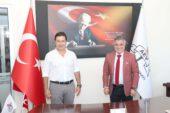 Bodrum Belediye Başkanı Aras, Afyon Eğitim Vakfı'nı ziyaret etti