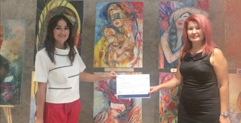 """Bodrum'da """"Yeni dünya sanatı"""" sergisi açıldı"""