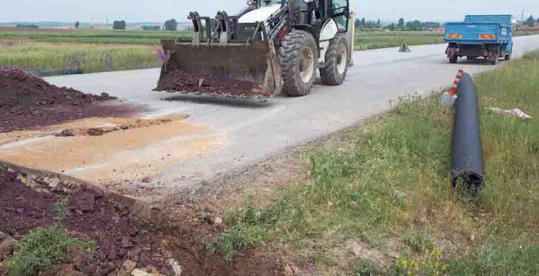 Çiftçilerin baraj sularından yararlanması için belediye çalışıyor