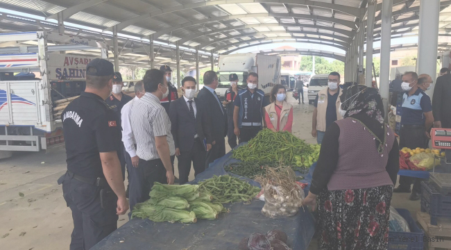 Dinar Tatarlı Beldesinde Koronavirüs Denetimi Yapıldı
