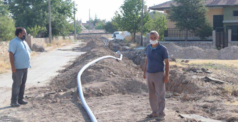 Emirdağ'da Su Çalışmaları Devam Ediyor