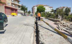 Emirdağ'da doğalgaz çalışmaları devam ediyor