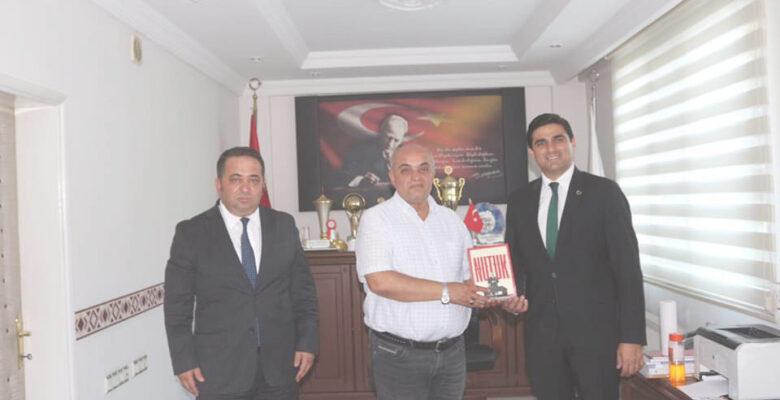 İstanbul Büyükşehir Belediyesi Mahalli İdareler Koordinatörü Türkmene Ziyarette bulundu