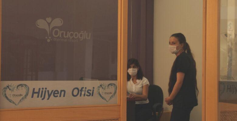 Korona virüse karşı ozonla mücadele başlattılar