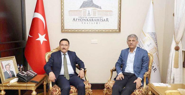 Kültür ve Turizm Bakan Yardımcısı Nadir Alpaslan Afyonkarahisar'da