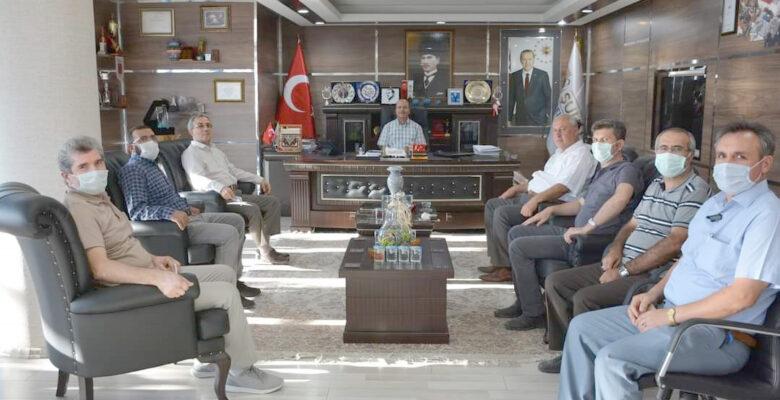 Recep Bozkurt'tan Anlamlı Ziyaret
