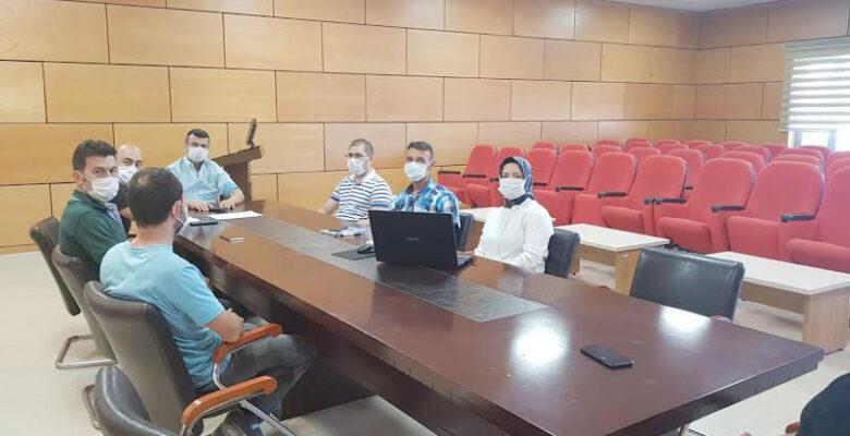 Sağlık İl Müdürü Korkmaz Yoğun Bakım Servislerini ziyaret etti