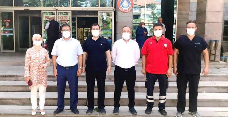 Sağlık Müdürlüğünden Sandıklı ve Dinar ilçe Hastanelerine Ziyaret