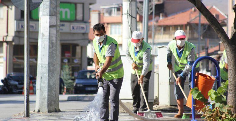 Şuhut Belediyesi Ekiplerinden Örnek Çalışma