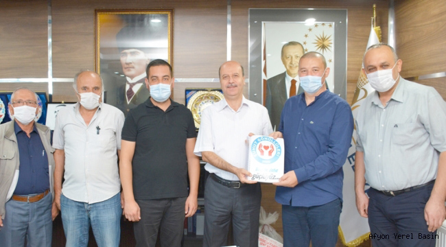 Şuhut Gönüllülerinden Başkan Bozkurt'a Ziyaret