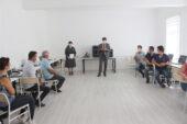 Yalçın YENEP Tinkercad eğitici eğitimi belge törenine katıldı