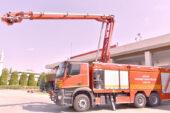 Yangınlara Gelişmiş İtfaiye araçları ile müdahale edilecek