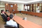 Yeni atanan öğretim üyeleri için tanışma toplantısı düzenlendi