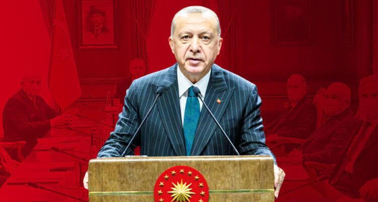 Cumhurbaşkanı Erdoğan'dan kurmaylarına talimat… Doğu Akdeniz'de herkesle aynı masaya oturabiliriz