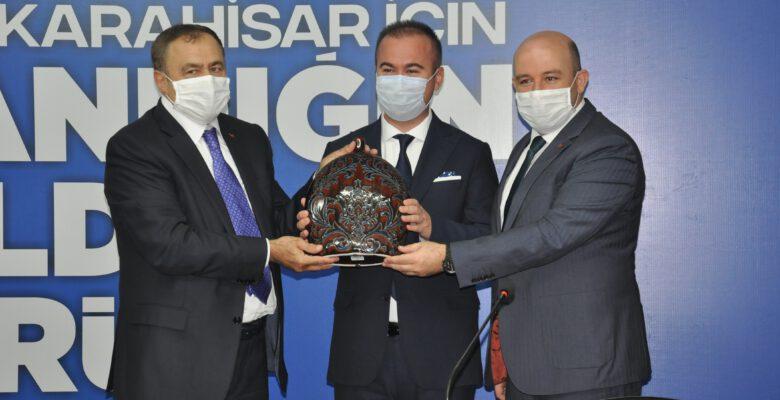 Eroğlu, Cumhurbaşkanı Erdoğan'ı Afyonkarahisar il kongresine davet etti