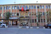 Belediye binasına Azerbaycan ve Türk bayrakları asıldı