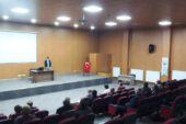 Hisarcık'ta okul servis sürücülerine hijyen eğitimi