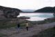 Tahtalı Yaylası bungalov evleri, göledi ve ormanıyla eşsiz bir manzara sunuyor