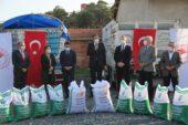 Çiftçilere 75 ton Macar Fiği tohumu dağıtıldı