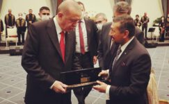 Milletvekili Erbaş, Erdoğan ve Tatar ile Cumhurbaşkanlığı Külliyesi'nde