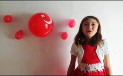 Uzaktan eğitim öğrencilerinin 29 Cumhuriyet Bayramı kutlaması