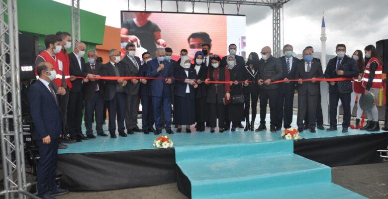 Binali Yıldırım Afyonkarahisar'da anaokulu açılışına katıldı