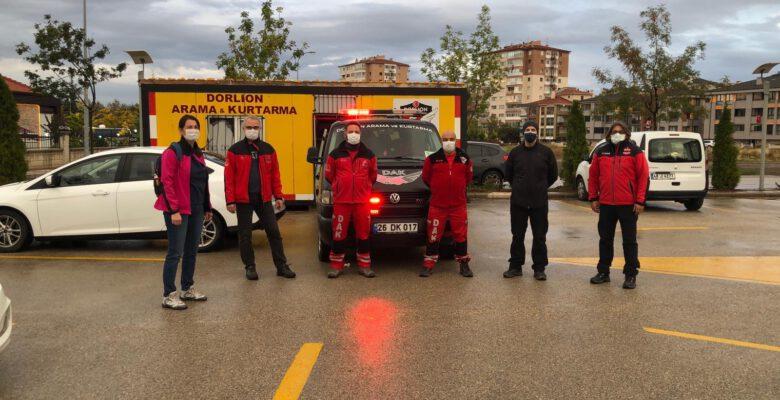 Dorlion ekibi de İzmir'e hareket etti