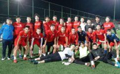 Afjet Afyonspor'un Akademi U17'leri Hız Kesmiyor