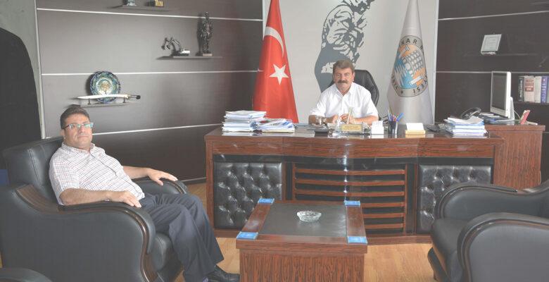 Akoğlanoğlu'ndan Başkan Sarı'ya İade-i Ziyaret