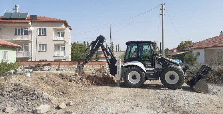 Başkan Karaman Yol çalışmalarını inceledi