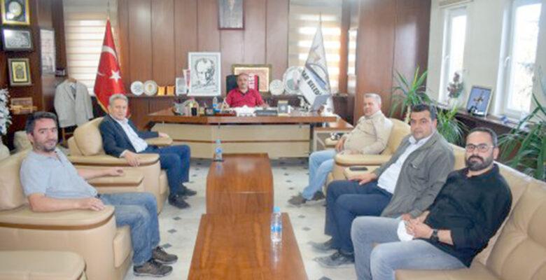 Demokrat Parti İl Başkanı Hikmet Bülbül'den, Başkan Şahin'e Ziyaret