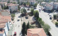 Dinar Kadın Kültür Evi için inşaat çalışmaları sürüyor