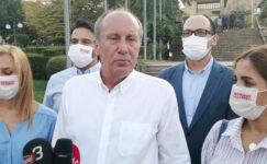Eski CHP Milletvekili Muharrem İnce Afyonkarahisar'ı ziyaret etti