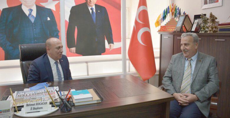 Genel Başkan Yardımcısı Yönter MHP İl Başkanlığını ziyaret etti