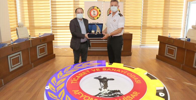 İl Jandarma Komutanı Çömez'den veda ziyareti