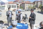 Kaymakam Kaçmaz'dan Köylerde Korona virüs denetimi