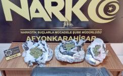 """LPG deposuna zulalanan esrarı dedektör köpek """"Zela"""" buldu"""
