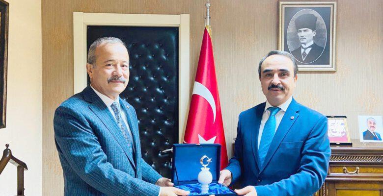 Milletvekili Taytak'tan Bakan Yardımcısı Özkaldı'ya ziyaret