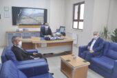 Müdür Uyan'ı Başkan Karaman ziyaret etti