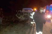 Sandıklı'da trafik kazası: 2 yaralı