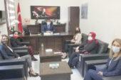 TOBB Afyonkarahisar Kadın Girişimciler Kurulu, Kaya'yı ziyaret etti