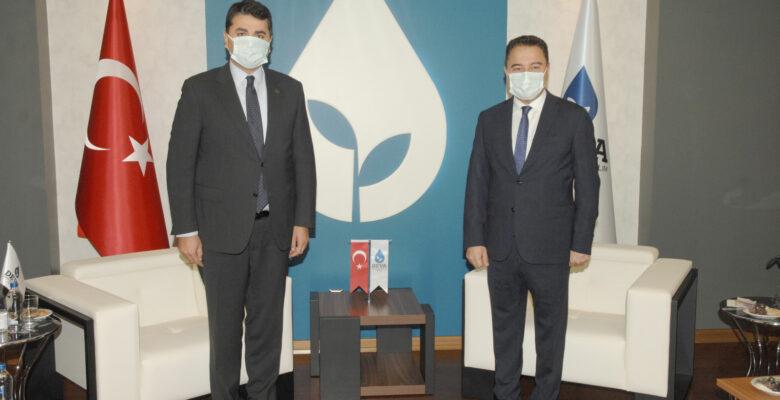 Uysal, DEVA Partisi Genel Başkanı Ali Babacan'ı ziyaret etti