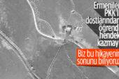 Ermenistan Azerbaycan ordusundan kaçmak için hendek ve tünel kazdı