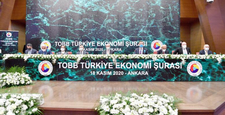 ATSO Heyeti, TOBB Türkiye Ekonomi Şurası'na katıldı