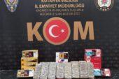Kütahya'da sigara kaçakçılarına operasyon