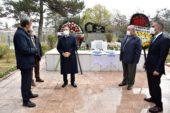 Behiç Erkin ölümünün 59. yıldönümünde kabri başında anıldı