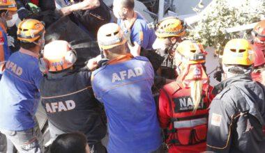 AFAD Afyonkarahisar ekibi İzmir'den döndü