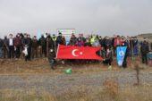 Eskişehir Türk Ocağı Mustafa Abdülcemil Kırımoğlu Hatıra Ormanı'na 2 bin 20 fidan
